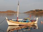 Fiskebåt som haft en kreativ byggare